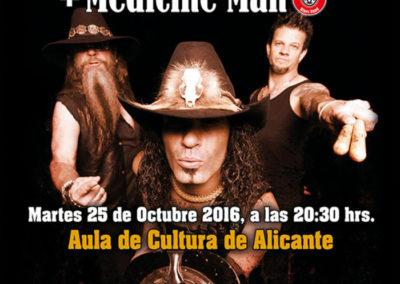 Medicine Man en concierto