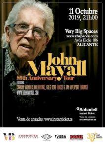 Concierto de John Mayall en Alicante